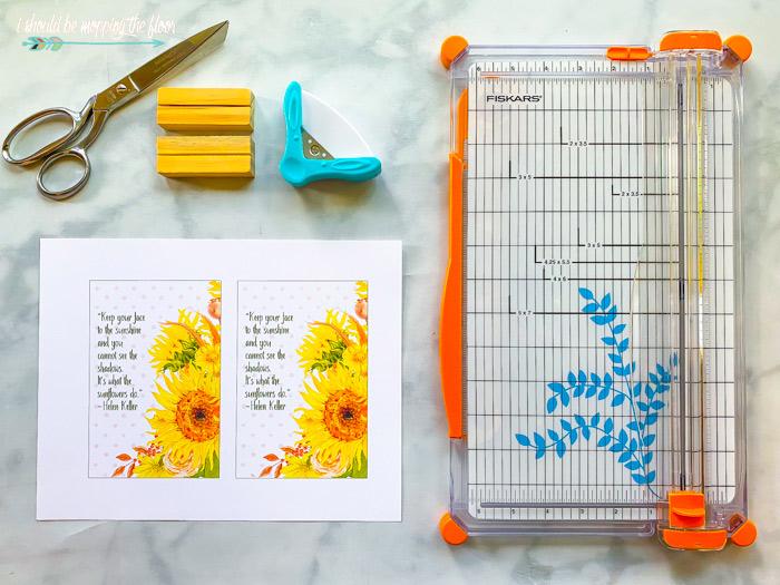 Sunflower Printables