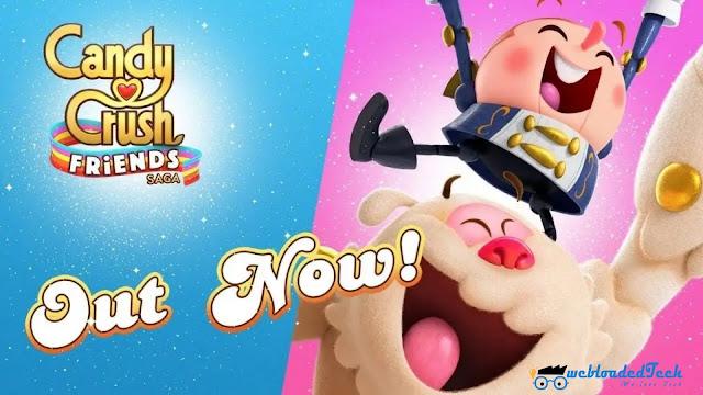 Candy Crush Friends Saga Mod Apk 1.35.2 [Unlimited Money]
