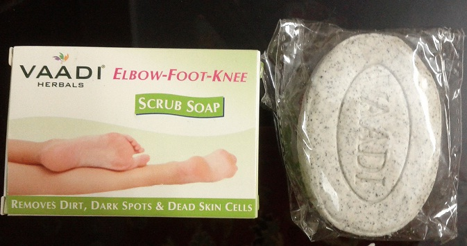 Vaadi Herbals Elbow-Foot-Knee Scrub Pedicure Soap Review
