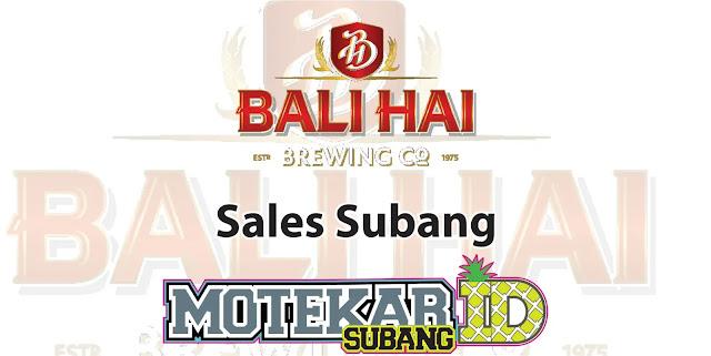 Lowongan Pekerjaan Sales Balihai Cabang Subang 2019