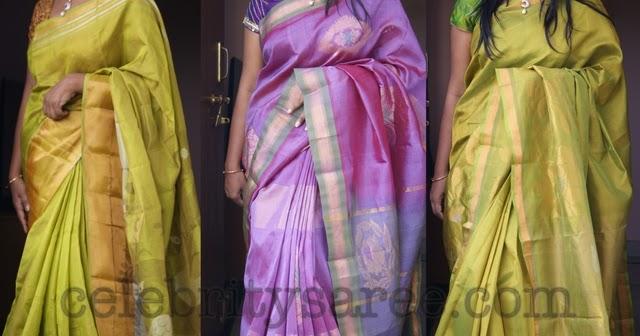 Latest Plain Uppada Sarees Saree Blouse Patterns