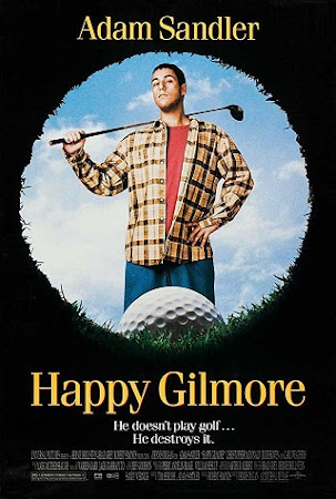Poster Of Happy Gilmore In Dual Audio Hindi English 300MB Compressed Small Size Pc Movie Free Download Only At worldfree4u.com