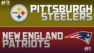 Steelers Patriots AFC Championship Simulation