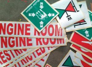 bahan sticker reflective