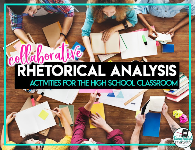 Collaborative Rhetorical Analysis Poster Project
