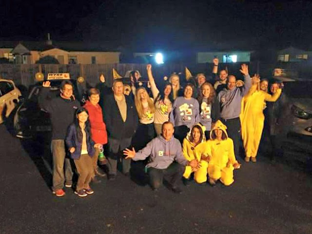 Children in Need - The Big Learner relay - Fundraising - sponsor a spot - Lancashire Team - 2015