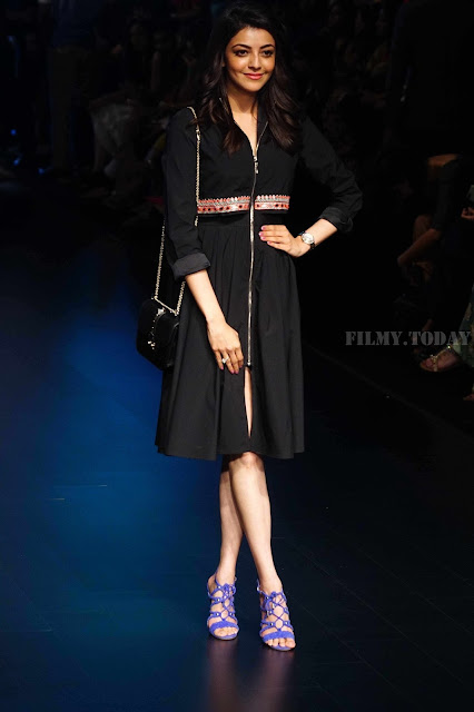 Kajal Agarwal Lakme Fashion Week Hot Photo