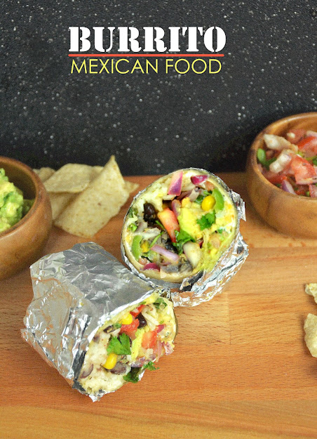 mexican chipotle burrito recipe