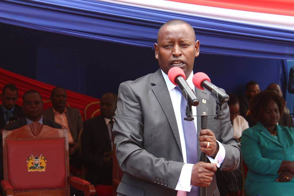 Samburu Governor Moses Kasaine Is A Thief, EACC Claims