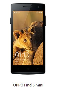 Firmware Oppo Find 5 Mini terbaru