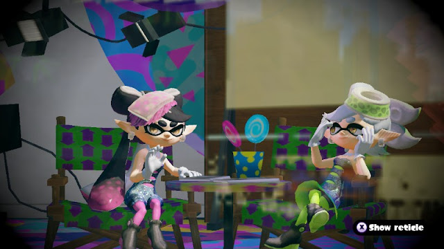 Callie Marie lollipops Splatoon Squid Sisters studio