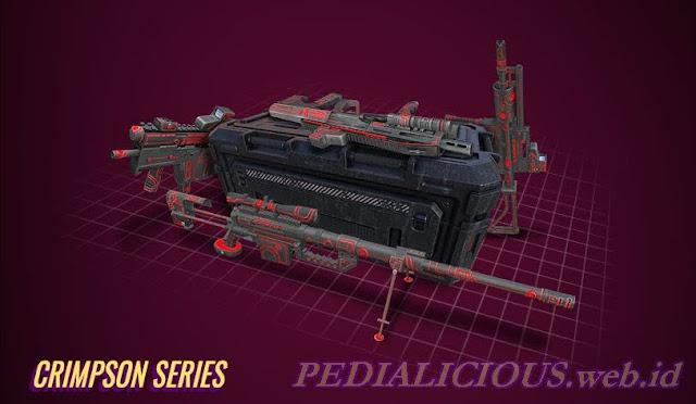 Harga & Statistik Seri Crimson Senjata Point Blank
