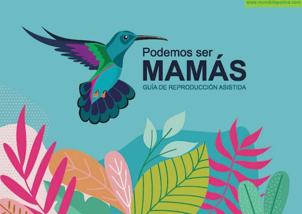 El Cabildo y el colectivo Violetas publican una guía de reproducción asistida para asesorar a las futuras madres