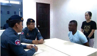 Nigerian man and his girlfriend arrested