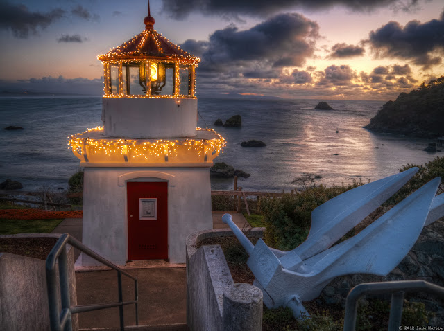 Trinidad Lighthouse for the holidays