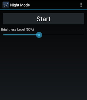 Use Night Mode app