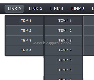 Blogger-Drop-Down-Menu-Bar