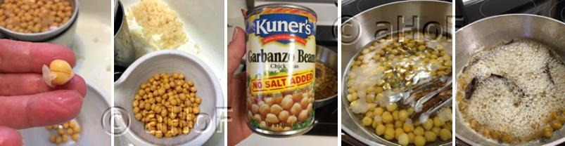 Making Garbanzos en Dulce
