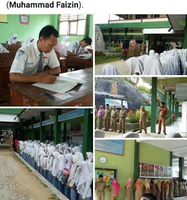 11 Madrasah Aliyah di Kabupaten Pringsewu Laksanakan UAMBN dan USBN