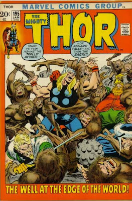 Thor #195, trolls, Well at the Worlds End