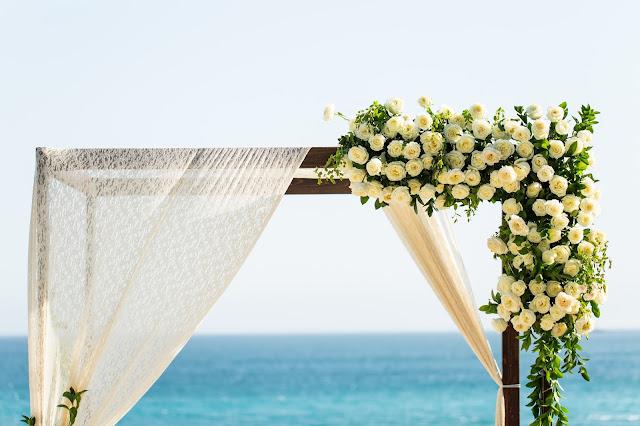 Floral arch cape  Cape wedding  Florenta Floral designer in los cabos