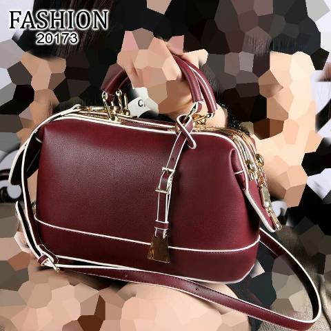 FASHION Doctor Bags Smooth Leather (20173)