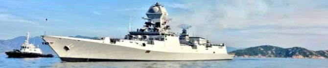 Indian Warship Ins Kochi Participates In First Naval Exercise With Saudi Arabia