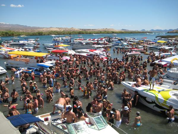 With you lake havasu spring break nude