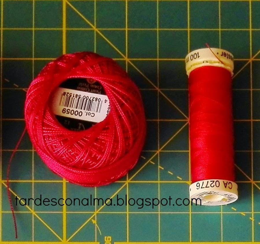 Hilos de bordar y de coser