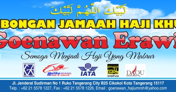 Desain Spanduk Umroh format cdr ~ Banten Art Design