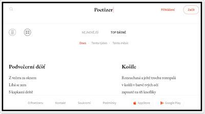 Poetizer - Sociální síť pro básníky