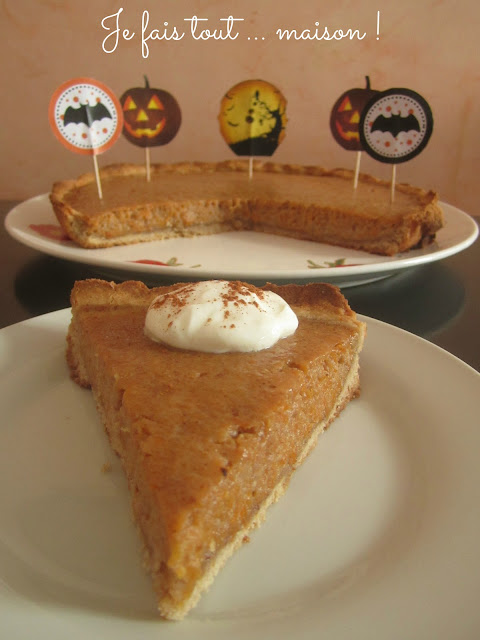Pumpkin Pie (Tarte à la citrouille)