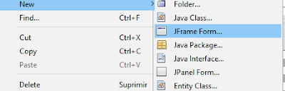 create a java Jframe