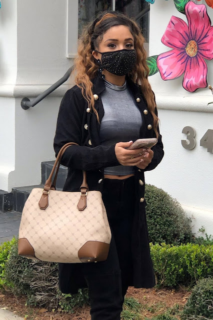 Trina LaFargue – Shopping canids in West Hollywood