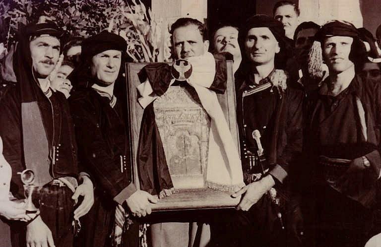 Οι ιδρυτές της Ιεράς Μονής Παναγίας Σουμελά στο Βέρμιο Όρος