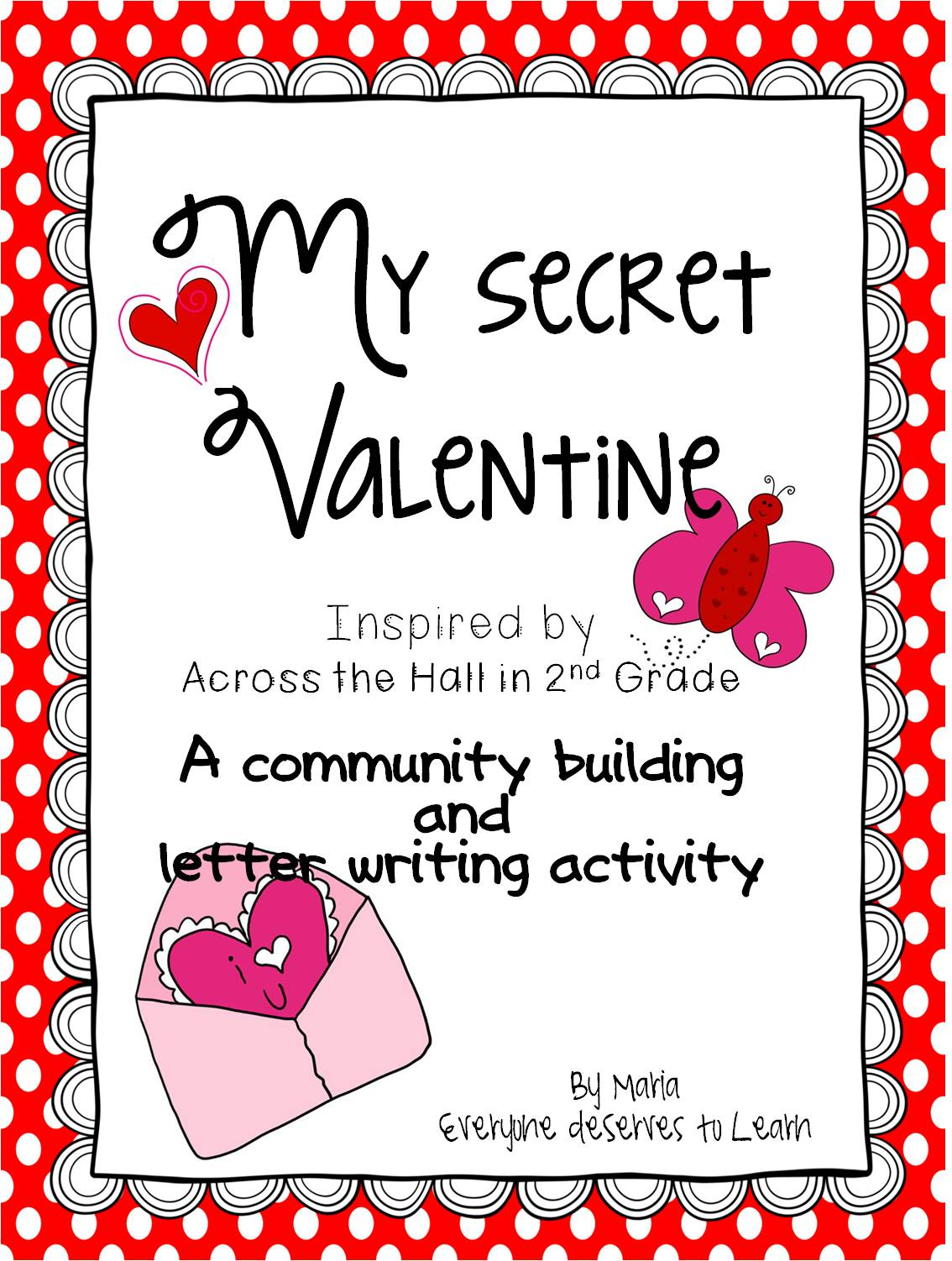 Valentine S Craftivity And Letter Writing