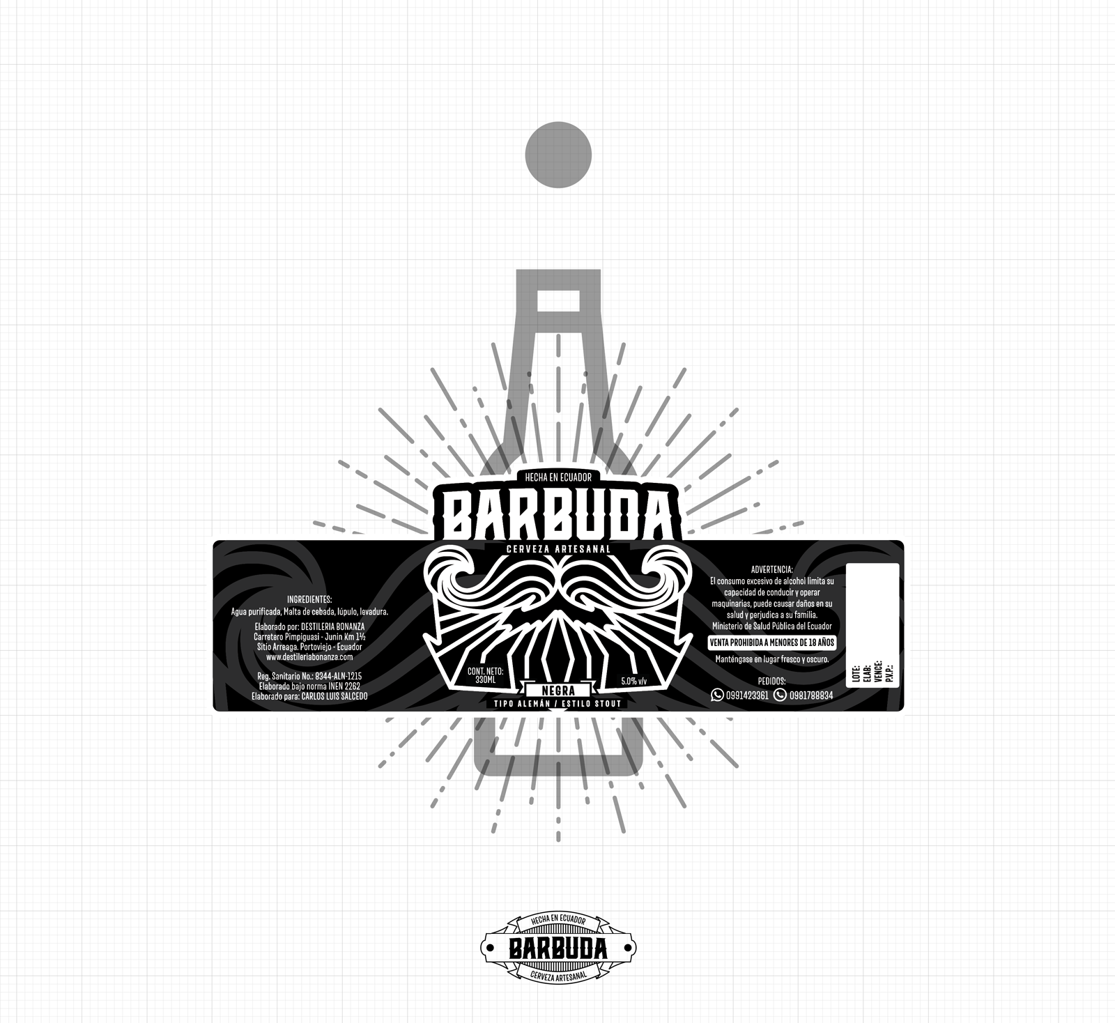 Barbuda Craft Beer On Packaging Of The World
