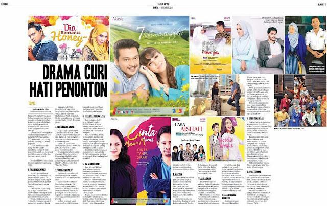 senarai drama melayu 2016