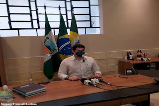 Samuel Cidade Werton, prefeito de Santana do cariri faz balanço do cem primeiros dias de sua gestão
