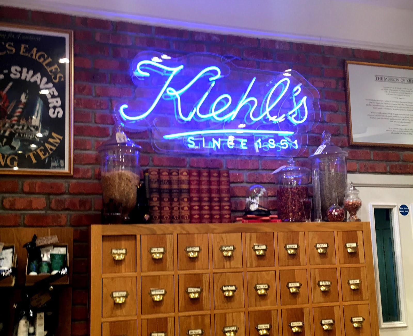 Bloggers Event at Kiehl's Nottingham