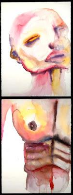 Vicodin, pintura de Marilyn Manson.