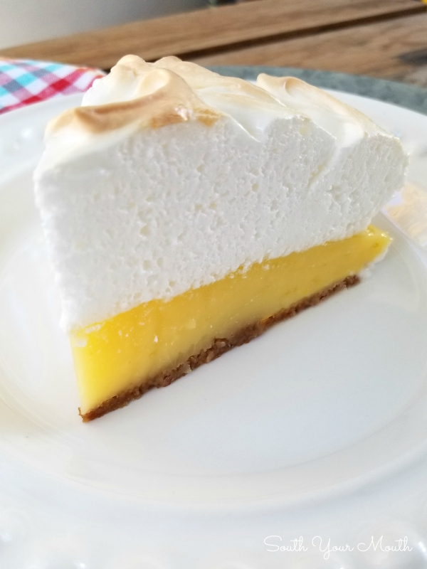 Perfect Lemon Meringue Pie | Classic lemon meringue pie with tart and creamy lemon custard topped with silky smooth meringue plus tips for making the perfect creamy meringue that stays dreamy for days.