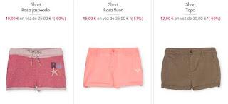 Shorts para nina