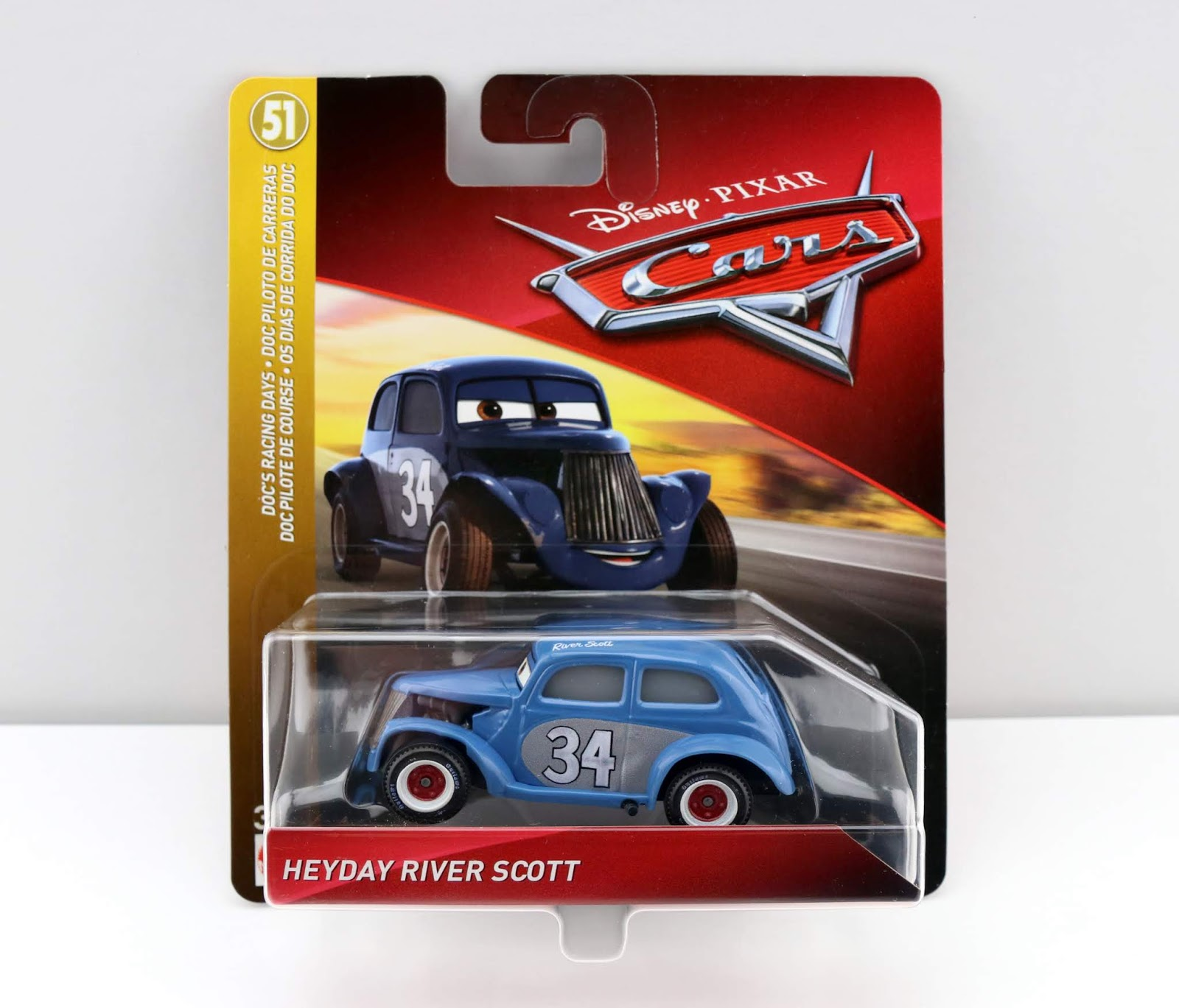 Cars 3 Heyday River Scott diecast