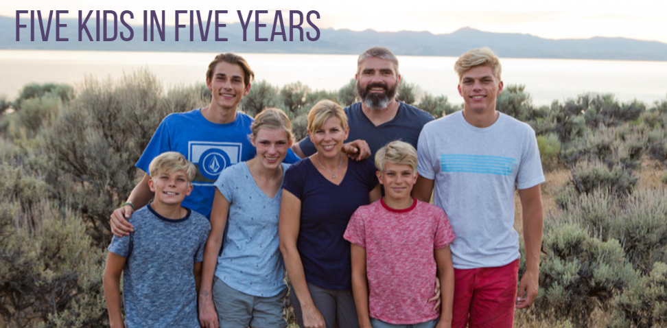 Five Kids in Five Years