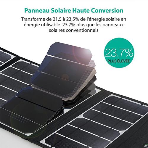Panneau solaire RavPower 24W