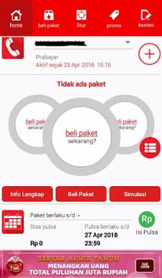 Cek Kuota Smartfren Melalui Aplikasi Smartfren
