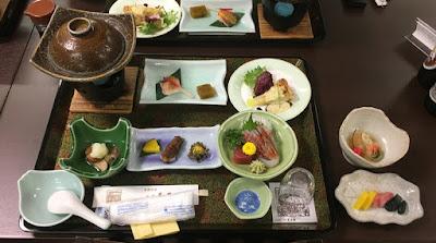 玉子湯の夕食(梅プラン)
