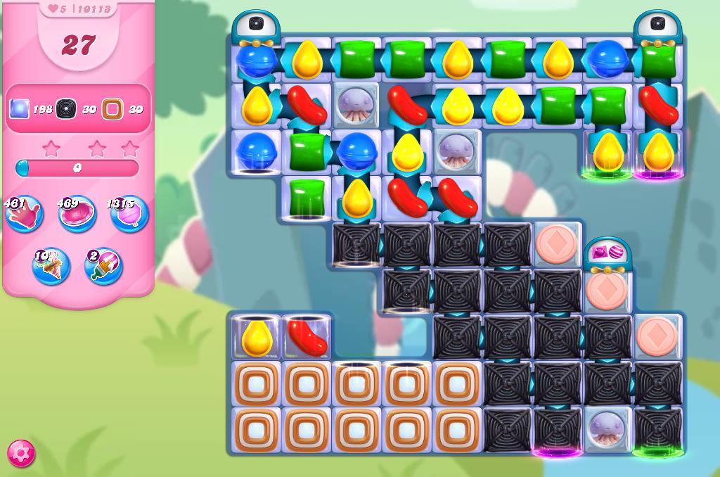 Candy Crush Saga level 10113