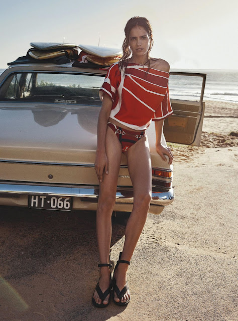 vogue australie,photo shooting,fébruary 2016,summer 2016,mode,benny home